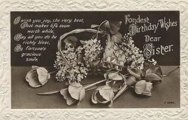 Good condition. Vintage postcard which may have scuffs & small bumps to corners. See photo. Contact us for more information if needed.
