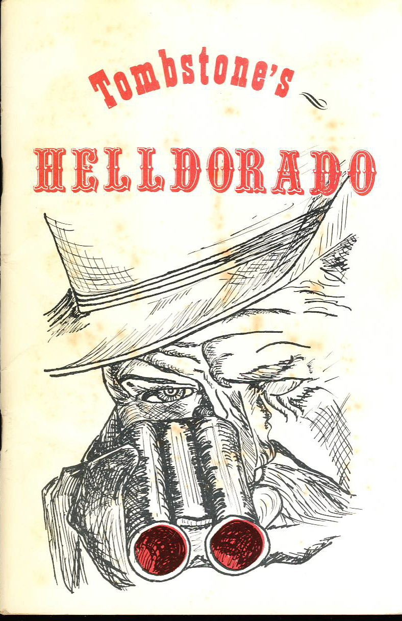 This vintage publication is by Margherita Lighthiser.  A collection of over 40 black and white images from the Helldorado event. Inside in VGC. Cover has marks.