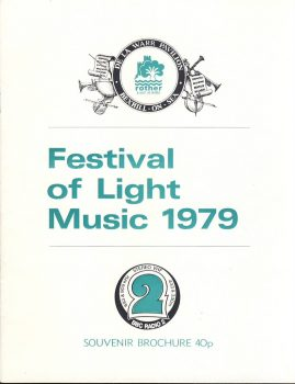 1979 Rother District Council BEXHILL-ON-SEA Festival of Light Music Brochure. Good used condition.  This vintage Theatre programme measures approx 18cm x 24cm. Please read full description and see large photo. C445