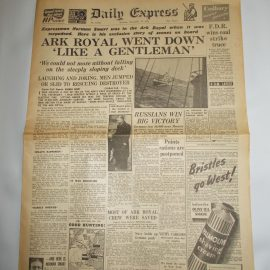 Daily Express November 15th 1941 4 page reproduction newspaper history teaching research projects materials RefS4 This is a pre-owned paper in good condition. Ideal for projects and research. Please see full description and photo.
