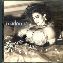 MADONNA like a virgin CD pre-owned refS4