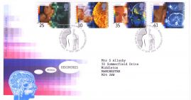 1994-09-27 Medical Discoveries Royal Mail FDC Bureau fdi with insert card refA2