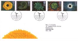 1995-03-14 Springtime The Four Seasons FDC Royal Mail First Day Cover with insert card Bureau fdi refA5