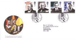 1995-09-05 Communications Pioneers FDC Bureau fdi with insert card refA10