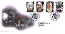 1997-05-13 Tales of Terror Royal Mail First Day Cover Bureau fdi with insert card refA25