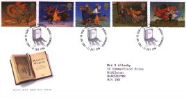 1998-07-21 Child Fantasy Novels Magincal Worlds FDC Bureau fdi with insert card refA37