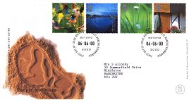 2000-06-06 People and Place Royal Mail Millennium FDC with insert card refA59