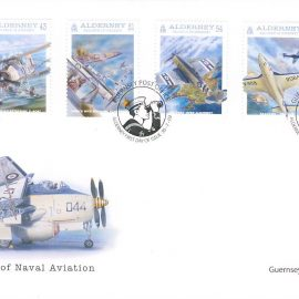 FO2011a Naval Aviation Guernsey Post Alderney FDC First Day Cover. Very Good Condition. With insert card. Please see larger photos and full description for details.