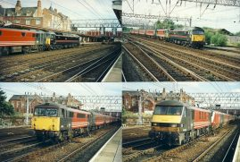 4 x GB UK colour photos of trains / railways / locomotives - approx measurements 15cm x 10cm each (6x4 inches each) All in Very Good Condition.