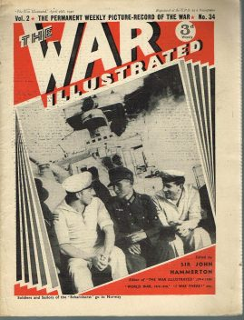 The War Illustrated April 26th 1940 newspaper Vol.2 No.34 history projects