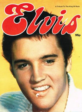 ELVIS A Tribute to the King of Rock 1976/77 Pheobus Publishing large paperback 64 pages  refS This is a pre-owned book / magazine in good condition.  Please see photo and read full description.