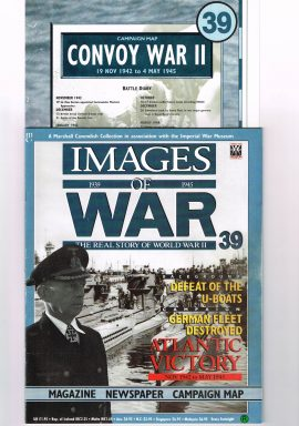 Images of War no.39 ATLANTIC VICTORY U-BOATS The Real Story of World War II. Magazine
