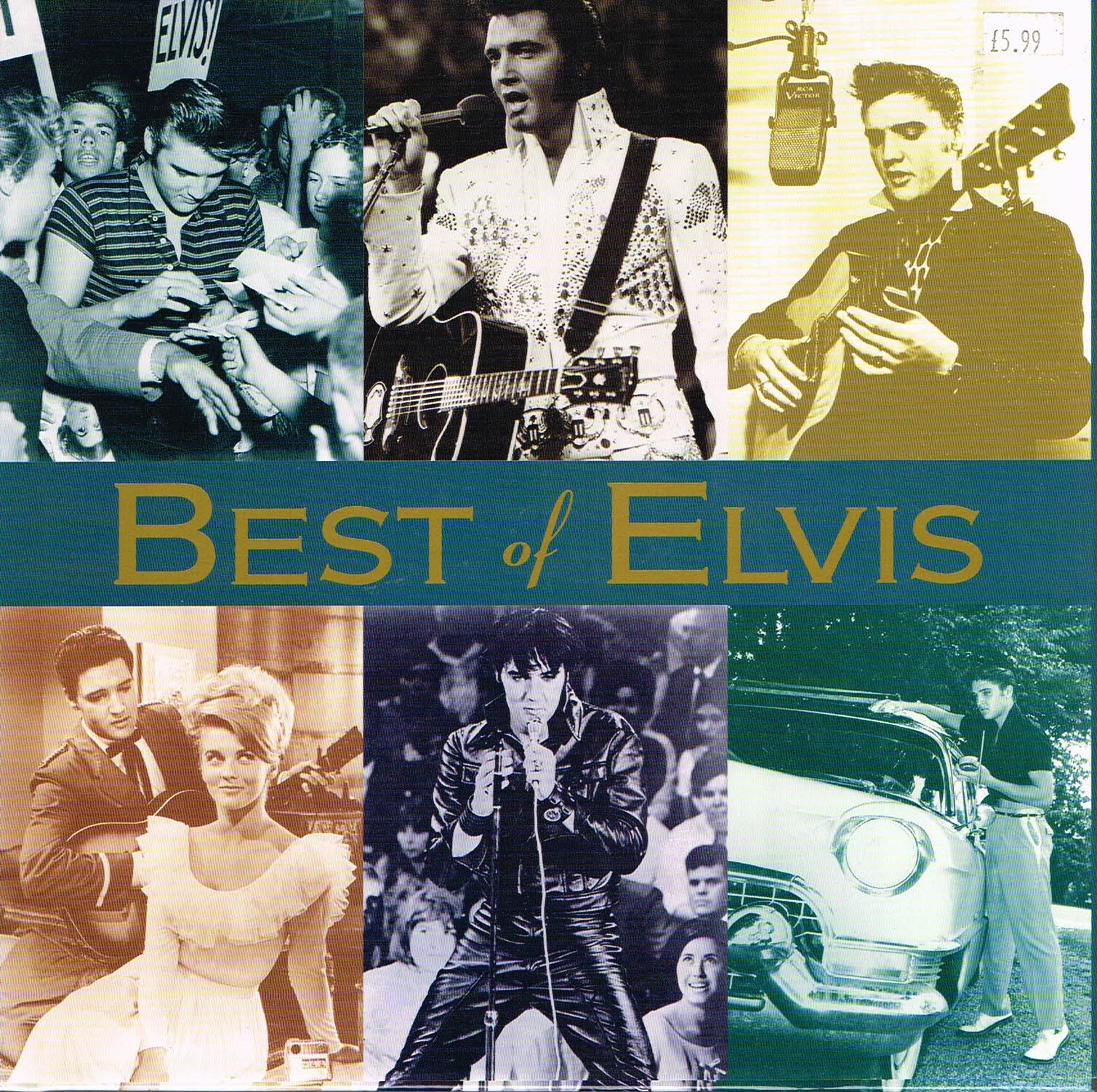Best of Elvis by Susan Doll 1997 Hardback Book DJ refS This is a pre-owned book in very good condition.  Please see photo and read full description.