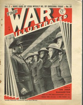 The War Illustrated May 17th 1940 newspaper Vol.2 No.37 history projects