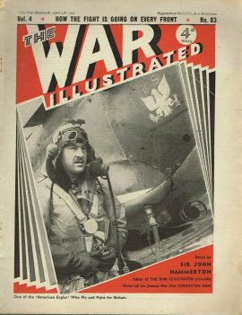 The War Illustrated April 4th 1941 newspaper Vol.4 No.83 history teaching research projects materials Ref08 This is a pre-owned product in good condition for age. Ideal for projects and research Please see full description and photo.
