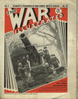 The War Illustrated January 31st newspaper Vol.4 No.74 history teaching research projects materials Ref11 This is a pre-owned product in fair condition for age. Marks and creases. Ideal for projects and research Please see full description and photo.