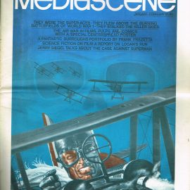 1976 MEDIASCENE Jan-Feb issue 17 American Entertainment paper magazine 32 pages refMag2S9 Good condition for a vintage newspaper / magazine. Please see photo and read full description.