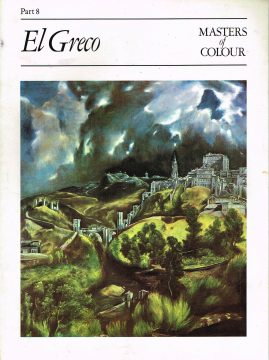 Masters Of Colour Part 8 El Greco 1984 Eaglemoss Publication Good condition for a vintage magazine. Marks on cover. Clean inside. Please see photo and read full description.
