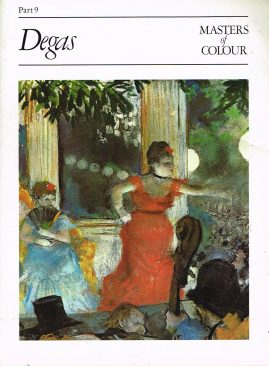 Masters Of Colour Part 9 DEGAS 1984 Eaglemoss Publication Good condition for a vintage magazine. Marks on cover. Clean inside. Please see photo and read full description.