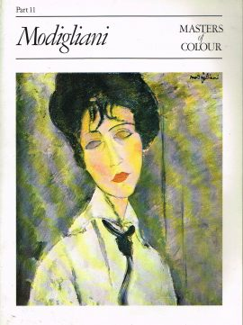 Masters Of Colour Part 11 MODIGLIANI 1984 Eaglemoss Publication Good condition for a vintage magazine. Marks on cover. Clean inside. Please see photo and read full description.