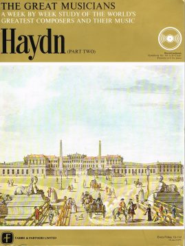 """The Great Musicians HAYDN (part two) 10"""" LP & Magazine Fabrri & Partners ref65 Very Good Condition. Each LP is 10"""" and 33rpm Details of record enclosed shown on front cover. Please see photo and full description."""