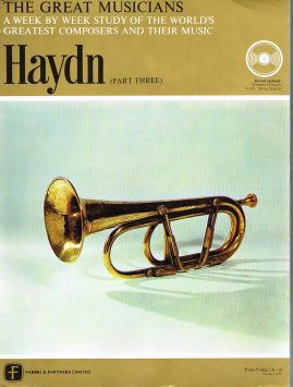 """The Great Musicians HAYDN (part three) 10"""" LP & Magazine Fabrri & Partners ref66 Very Good Condition. Each LP is 10"""" and 33rpm Details of record enclosed shown on front cover. Please see photo and full description."""