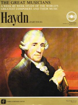 """The Great Musicians HAYDN (part four) 10"""" LP & Magazine Fabrri & Partners ref67 Very Good Condition. Each LP is 10"""" and 33rpm Details of record enclosed shown on front cover. Please see photo and full description."""