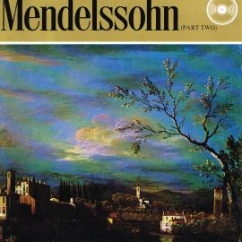 """The Great Musicians MENDELSSOHN (part two) 10"""" LP & Magazine Fabrri & Partners ref69 Very Good Condition. Each LP is 10"""" and 33rpm Details of record enclosed shown on front cover. Please see photo and full description."""