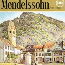 """The Great Musicians MENDELSSOHN (part three) 10"""" LP & Magazine Fabrri & Partners ref70 Very Good Condition. Each LP is 10"""" and 33rpm Details of record enclosed shown on front cover. Please see photo and full description."""
