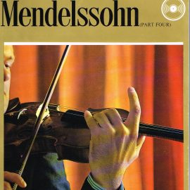 """The Great Musicians MENDELSSOHN (part four) 10"""" LP & Magazine Fabrri & Partners ref71 Very Good Condition. Each LP is 10"""" and 33rpm Details of record enclosed shown on front cover. Please see photo and full description."""