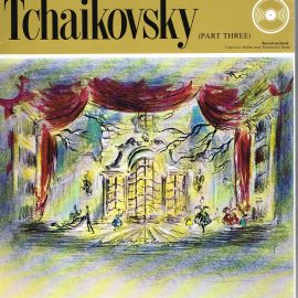 """The Great Musicians TCHAIKOVSKY (part three) 10"""" LP & Magazine Fabrri & Partners ref77 Very Good Condition. Each LP is 10"""" and 33rpm Details of record enclosed shown on front cover. Please see photo and full description."""