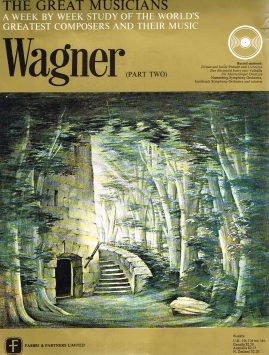 """The Great Musicians WAGNER (part two) 10"""" LP & Magazine Fabrri & Partners ref81 Very Good Condition. Each LP is 10"""" and 33rpm Details of record enclosed shown on front cover. Please see photo and full description."""