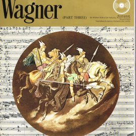 """The Great Musicians WAGNER (part three) 10"""" LP & Magazine Fabrri & Partners ref82 Very Good Condition. Each LP is 10"""" and 33rpm Details of record enclosed shown on front cover. Please see photo and full description."""