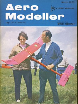 Aero Modeller Hobby Magazine March 1973 ref0021 Please see full decription and photo for details.