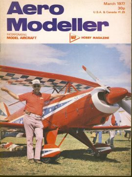 Aero Modeller Hobby magazine March 1977 ref0011 Please see full decription and photo for details.