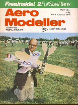 Aero Modeller Hobby magazine May 1977 ref0013 Please see full decription and photo for details.