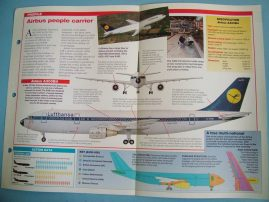 Aircraft of the World Card 3 AIRBUS A300 Airbus Industrie
