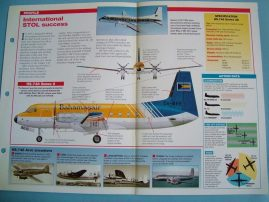 Aircraft of the World Card 33 Hawker Siddeley HS748