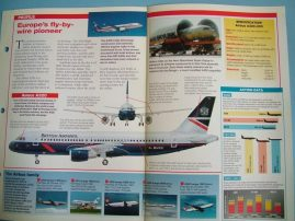 Aircraft of the World Card 4 AIRBUS A320 Airbus Industrie