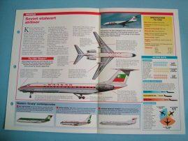 Aircraft of the World Card 48 TUPOLEV Tu 134 Crusty