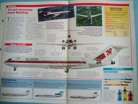 Aircraft of the World Card 5 BOEING Model 727