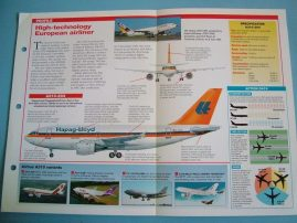 Aircraft of the World Card 60 Airbus Industrie AIRBUS A310 airliner