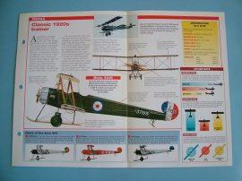 Aircraft of the World VINTAGE VETERAN Card 24 AVRO 504 Artillery spotter