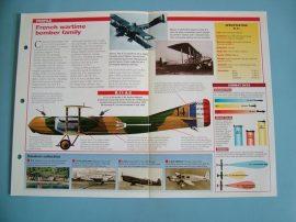 Aircraft of the World VINTAGE VETERAN Card 74 Caudron RGC SERIES
