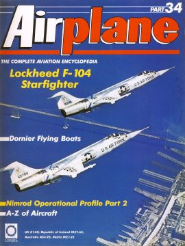 Airplane Magazine part 34 Lockheed F-104 Starfighter