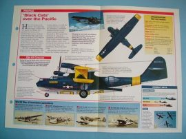 American Aircraft of World War II Card 3 Consolidated PBY CATALINA Black Cats