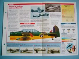 American Aircraft of World War II Card 39 North American Texan SNJ Harvard