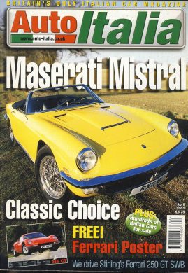 Vintage car magazine in good clean read condition.  No free poster. Please see photo and read full description. ref562