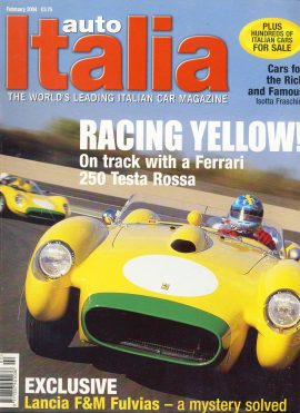 Vintage car magazine in good clean read condition. Please see photo and read full description. Ref594