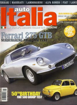 Vintage car magazine in good clean read condition. Please see photo and read full description. Ref647